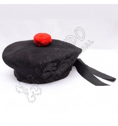 Black Balmoral Hat Plain
