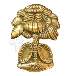 Eagel Gold civil war metal badge