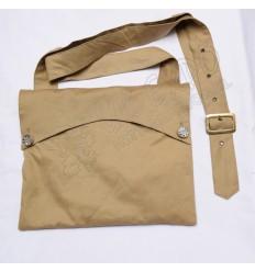 Bread Bag Khaki Tan Color 100% Cotton