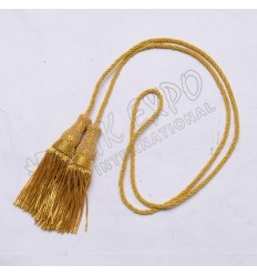Gold Bullion Tessels with Cord
