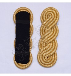 Epulett Red and Gold bullion Cord