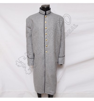 US Infantry Mans Frock Gray Wool Coat
