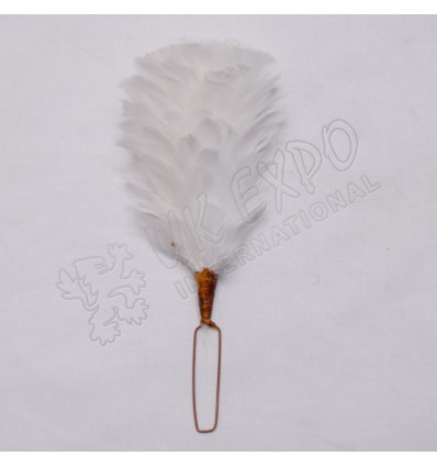 White Color Feathers Hackles
