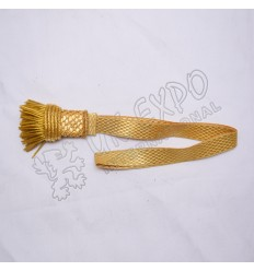 Golden Braid Sword Knots With Golden fringes