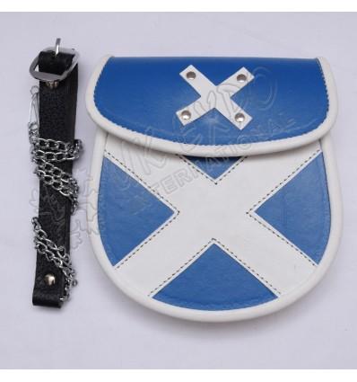 Scottish Leather Sporran