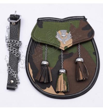 Army Camu Flage Sporrans