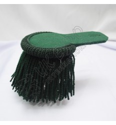 Dark Green Wool Shoulder/Epaulette pair
