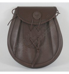 Brown Leather Day Wear Sporran