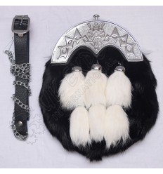 Black color Silver Bullion Hand Embroidery Doublet