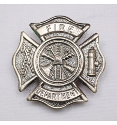 Fire Department Metal Badge
