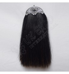 Dark Brown Horse Hair Sporran without Tessels