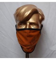 Saffron Gold Tartan Scottish Style Mask