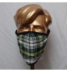 St Patrick Tartan Scottish Style Mask