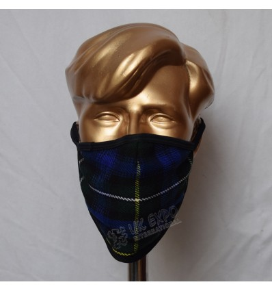Campbell of Argyll Tartan Scottish Style Mask