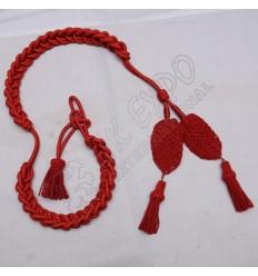 Red Shako Hat Cord