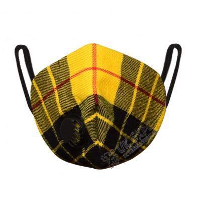 Macleod Dress Tartan Scottish Filter Mask
