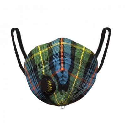 Flower of Scotland Tartan Scottish Filter Mask