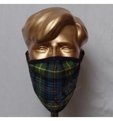 Flower of Scotland Tartan Scottish Style Mask