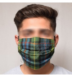Scottish Flower of Scotland Pleat Mask
