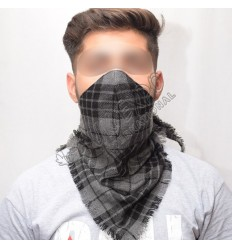 Grey Watch Scarf Style Tartan mask