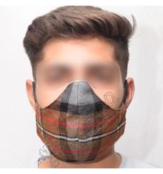 Burberry Check Corporate Tartan Scottish Style Fashion Mask