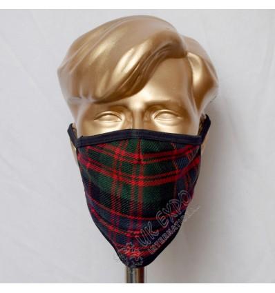 MacDonald Clan Tartan Scottish Style Mask