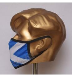 Scotland Flag Sublimated Cotton Mask