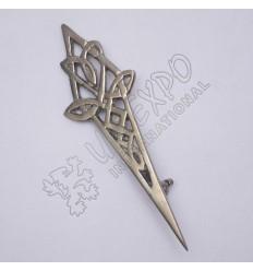 Trinity Celtic Shiny Antique Kilt Pin