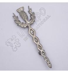 Scottish Celtic knot Sword Shiny Antique Kilt pin