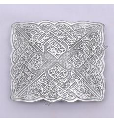 Bird Celtic Chrome Kilt Belt Buckle