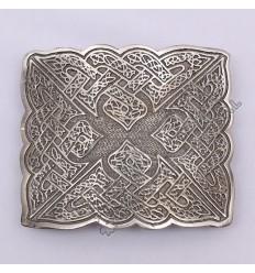 Bird Celtic Shiny Antique Kilt Belt Buckle