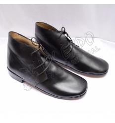 Civil War Black leather Shoes