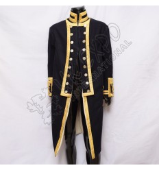 1902 Royal Navy Admirals Waist Belt with Gold Bullion Hand Embroidery