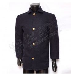 Civil War Coat Dark Blue With Eagle Botton
