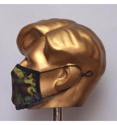 Army Camouflage Sublimated Cotton Mask
