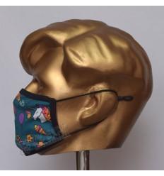 Unicorn Stylish Sublimated Cotton Mask