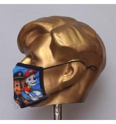 Chaze and Marshall Cartoon Sublimated Cotton Mask