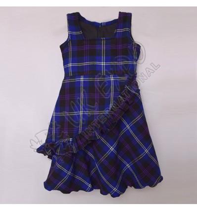 Heritage Of Scotland Tartan Sleeve less Stylish Full Skirt For 4 Year Old