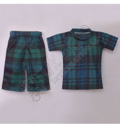 Boys Black Watch Sublimated Shirt And Short