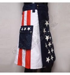 America Flag Utility KILT