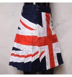 British Pride Union Jack Flag Utility Kilt