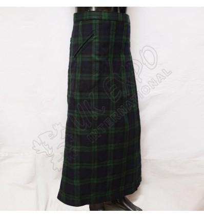 Black Watch Tartan Fashion Long Kilt