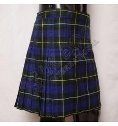 Campbell of Argyll Tartan Women Mini Kilt