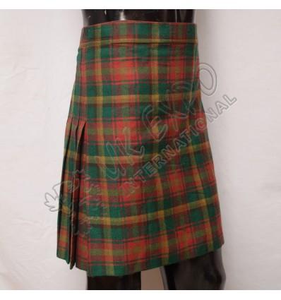 Maple Leaf Tartan Women Mini Kilt