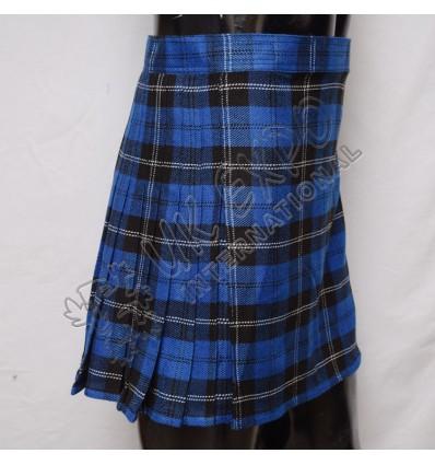 Royal Ramsay Blue Tartan Women Mini Kilt