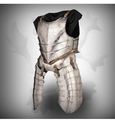 Antique Brass half Body Armor