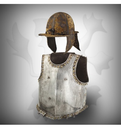 Antique Brass half Body Armor