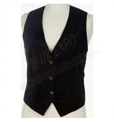 Black Color Ladies Vest