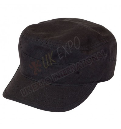 Black Color P Cap