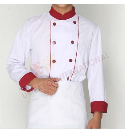 Black and Red Color Hotel Uniform